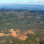 Vista aérea de la Serra d'Espadà (foto ESTEPA).