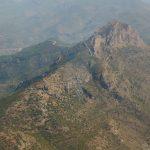 Vista aérea del Benicadell (foto ESTEPA).