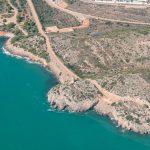 Vista aérea del litoral entre Benicàssim y Oropesa (foto ESTEPA).