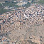 Vista aérea Villena (foto ESTEPA).