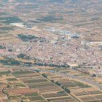 Vista aérea de Utiel (foto ESTEPA).