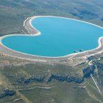 Deposito superior de la Muela. Complejo hidroeléctrico Cortes-La Muela (foto ESTEPA).