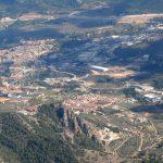 Vista aérea de Alcoi (foto ESTEPA).