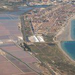 Vista aérea de Las Salinas de Santa Pola (foto ESTEPA).
