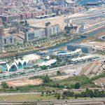 Vista aérea de la Ciudad de las Artes y las Ciencias (foto ESTEPA).