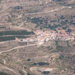 Vista aérea de Ares del Maestrat (foto ESTEPA).