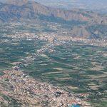 Vista aérea de la Vega del Segura (foto ESTEPA).