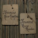 Tarjetas perforadas de telar Jacquard (foto Museo de la Seda en Moncada).