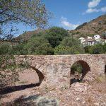 Acueducto en la Vall d'Almanzor (foto Pep Pelechà).