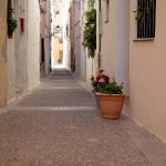 Calles de Requena (foto Adela Talavera).