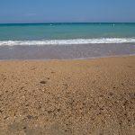 Playa de Benicarló (foto Adela Talavera).
