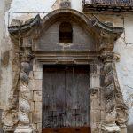 Benassal, casa señorial del siglo XVIII,1729 (foto Adela Talavera).