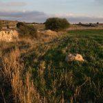 Campos de cultivo en Villafranca del Cid (foto Adela Talavera).