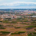 Benissanó y la Pobla de Vallbona desde Llíria (foto Pep Pelechà).