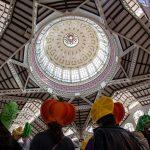 Interior del Mercado central de Valencia (foto miguel Lorenzo).