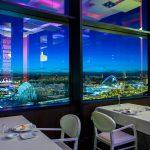 Vista del complejo desde un restaurante de la ciudad (foto Miguel Lorenzo).