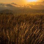 Atardecer en la Sierra de Aitana (foto Miguel Lorenzo).