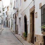 Calles de Xàbia (foto Miguel Lorenzo).