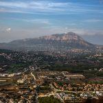 Vista desde el mirador de la Llorença en Benitaxell (foto Miguel Lorenzo).