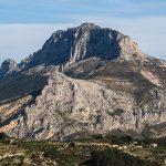 Sierra de Bèrnia (foto Miguel Lorenzo).