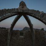 La Cava Gran o también llamada Cava Arquejada o Cava d'Agres (foto Miguel Lorenzo).