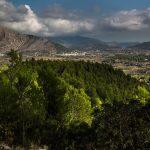 Vistas del Valle desde la Carretera CV-715 hacia Coll de Rates (foto Miguel Lorenzo).