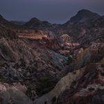 Paisaje de Badlands en la cuenca del Montnegre (foto Miguel Lorenzo).