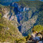 Vistas desde el Morrón, Montanejos (foto Pep Pelechà).
