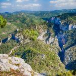 Montanejos y l'Alquería desde el pico del Morrón (foto Pep Pelechà).