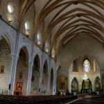 Interior de la Seu. Colegiata de Santa María (foto Miquel Francés).
