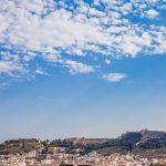 Vistas de Sagunto desde la ermita de Sant Cristòfol (foto Pep Pelechà).