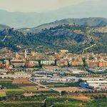 Vista norte de Xàtiva (foto Miquel Francés).