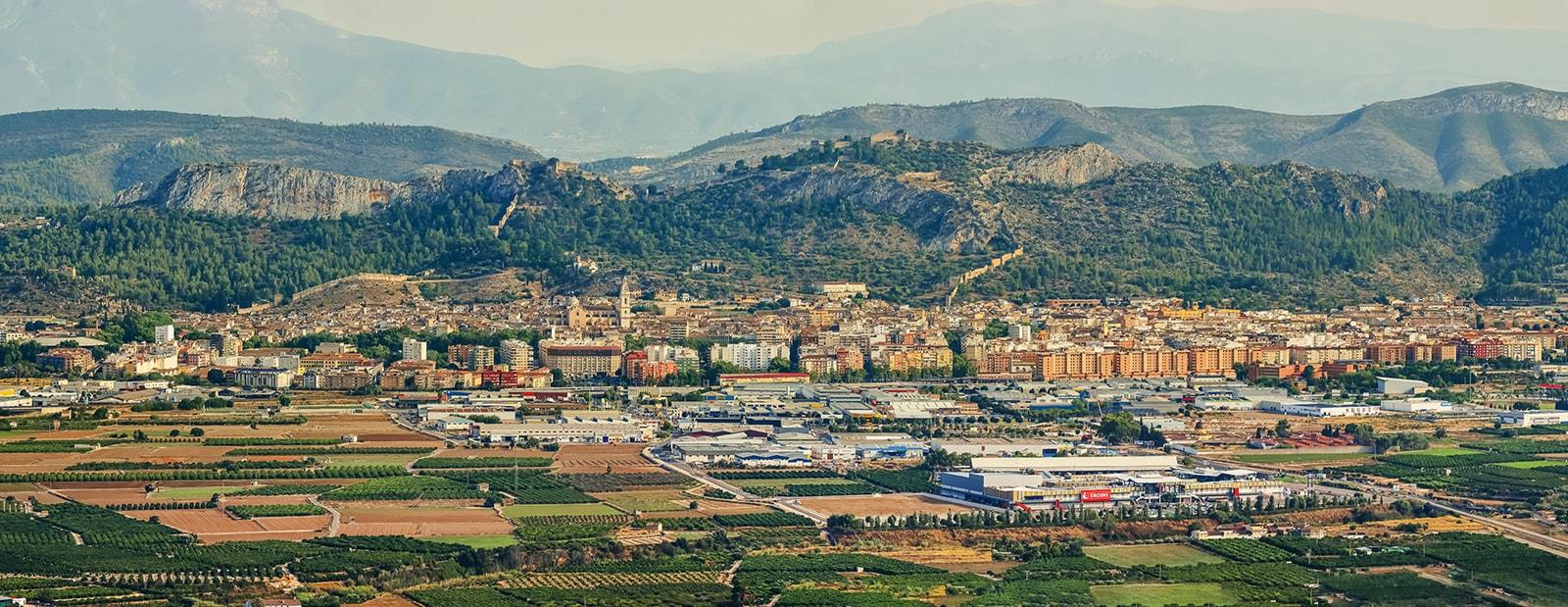 Xàtiva - Paisajes Turísticos ValencianosPaisajes