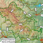 El Parque natural de la Serra d'Espadà (Coordenadas: 39o55'20''N 0o22'29''O), forma parte de una sierra en las estribaciones del Sistema Ibérico que separa las cuencas de los ríos Palancia al sur y Mijares al norte. Se encuentra en el sur de la provincia de Castellón, entre las comarcas del Alto Mijares, Alto Palancia y la […]