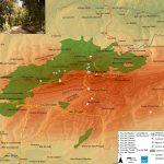 El Parque Natural del Carrascal de la Font Roja se encuentra situado en la sierra del Menejador, en la comarca del Alcoià, en los términos municipales de Alcoi e Ibi (Coordenadas: 38o38'51''N 0o32'46''O). Tiene una superficie de 2.298 ha, destacando como puntos más elevados, la cumbre del Menejador (1.356 m) y el alto de la […]