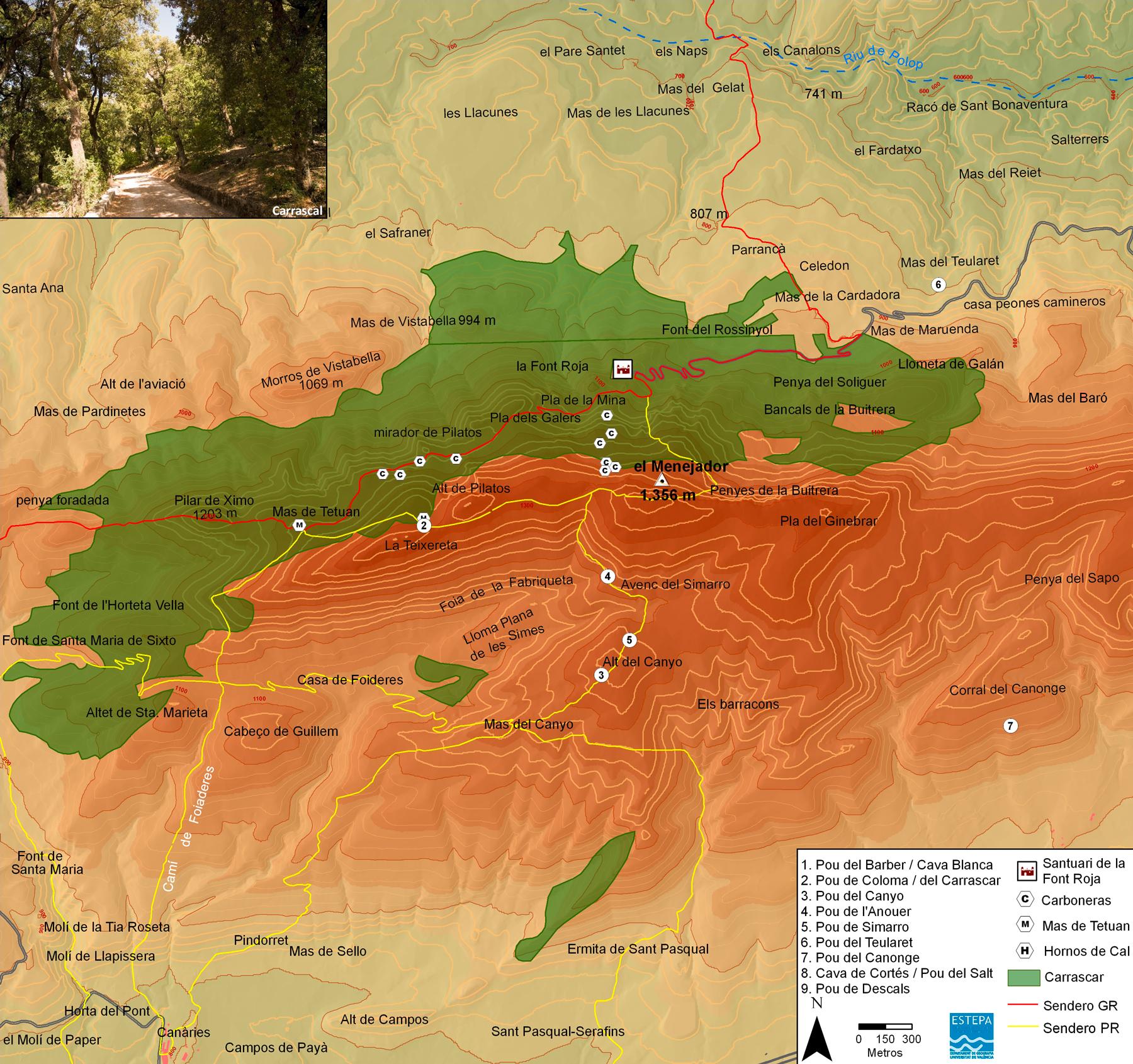 Resultado de imagen de mapa el menejador